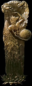 Guardian of the New Moon Bronze Relief